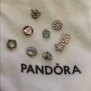 Mini Pandora Charms